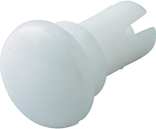TRUSCO(トラスコ) プッシュリベット 板厚2.7~3.6mm 穴径2.7Φ 長さ4.8 白 50個入 TPR2648-W