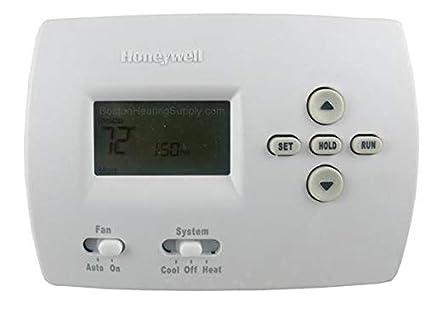 honeywell th4110d1007 programmable thermostat 20 30 volt heat rh amazon com honeywell th4110d1007 pro 4000 thermostat manual honeywell thermostat th4110d1007 manual pdf