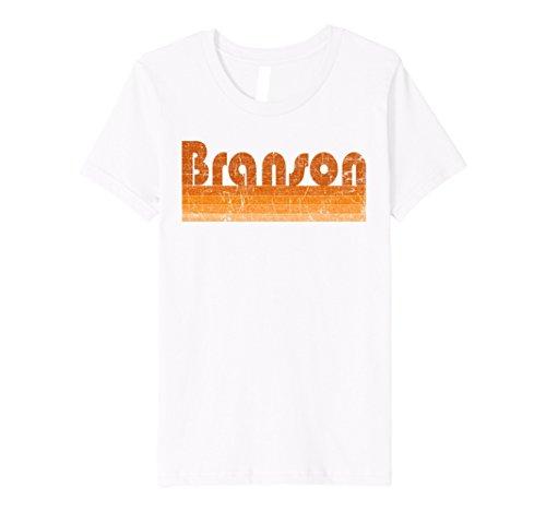 Kids Vintage Retro Premium Branson MO T Shirt 4 - For Mo Branson Kids