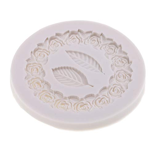 Wreath Leaf Silicone Mold Crystal Epoxy Mold for DIY Chocolate Cake - Mold Wreath Candy