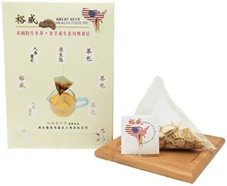 Yu Wei Ginseng American Ginseng Tea 100 Wisconsin Ginseng 3g x 10 Bags Ginseng Board of Wisconsin Certified