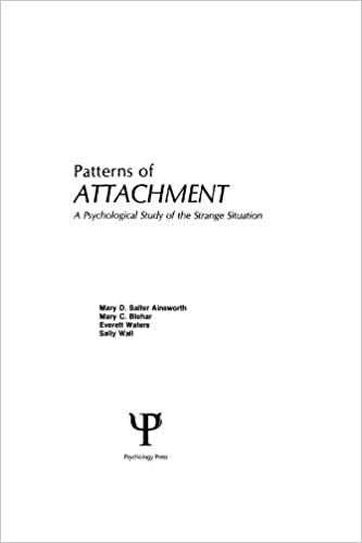 Patterns of attachment a psychological study of the strange patterns of attachment a psychological study of the strange situation 1st edition kindle edition fandeluxe Image collections