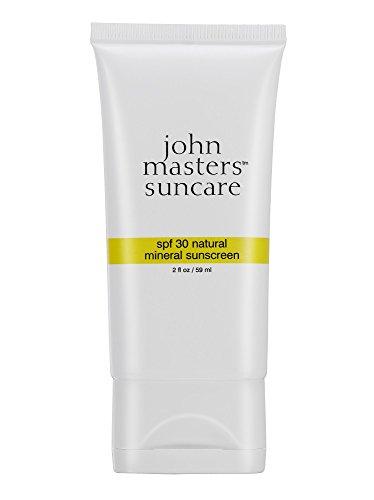 John Masters Organics SPF 30 Natural Mineral Sunscreen, 2 Ou