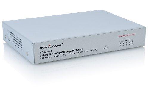 Dualcomm DCGS-2005 10/100/1000Base-T Gigabit Ethernet Network Tap