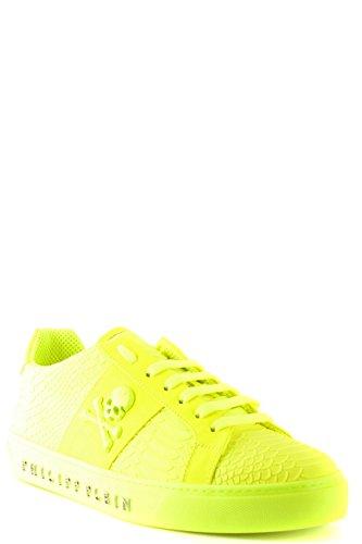 Philipp Plein Homme MSC1288PLE008N09 Jaune Polyester Baskets