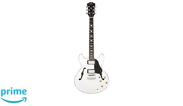 Aria TACBL - Guitarra, color blanco: Amazon.es: Instrumentos musicales