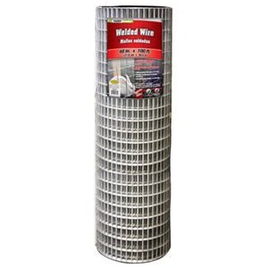YARDGARD 309224A 48 inch by 100 foot 14 gauge 1 inch by 2 inch mesh galvanized welded wire