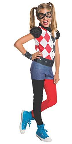 Rubie's Costume Kids DC Superhero Girls Harley Quinn Costume, Small ()
