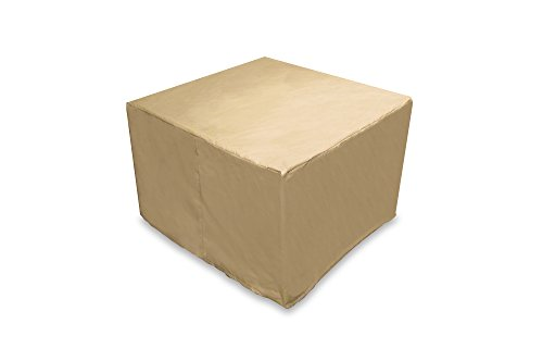 Protective Covers 2293-TN Quality Square Outdoor Firepit Cover, Tan by Protective Covers