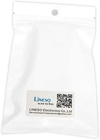 50CM LINESO 2 Pack SATA 15 Pin Male to 4xSATA 15 Pin Female Power Splitter Cables L=19.5Inches
