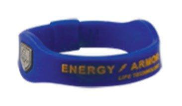 Energy Armor Negative Ion Superband (XSmall), Blue/Orange...