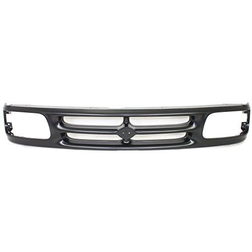 Evan-Fischer EVA1777209769 Grille for Mazda Pickup 94-97 Painted-Black Base/SE Models