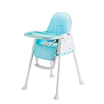 Chaise Pliante Portable Table /à Manger pour b/éb/é BB Chaise dapprentissage Table /à Manger Chaise pour b/éb/é Chaise pour Enfants Multi-Fonction Chaise haute