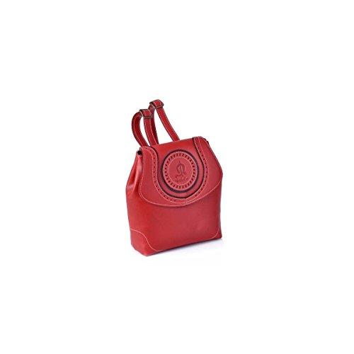 El Victorio Mujer amp; Outlet Rojo 1114 Lucchino Mochila Para Caballo qXXwZTrF