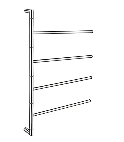 - Smedbo SME FK634 Towel Rail Swing-Arm, STAINLESS STEEL POLISHED,