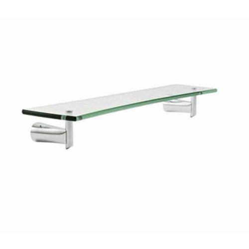 (American Standard 7010.018.002 Green Tea 18-Inch Glass Shelf, Chrome)