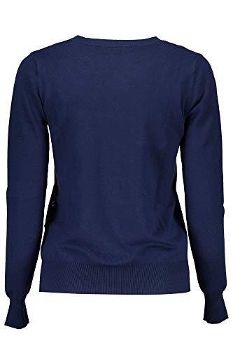 Guess Blu maglia A716 modello Flora donna W73R93Z1L70 rwXpq5rTz