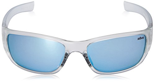 e77bfc946a Amazon.com  Revo Heading RE 4058 09 BL Polarized Rectangular Sunglasses