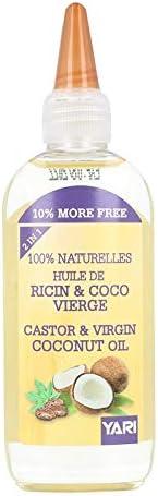 Yari - Aceite de ricino y coco, 110 ml (Castor & Virgin Coconut Oil): Amazon.es: Belleza