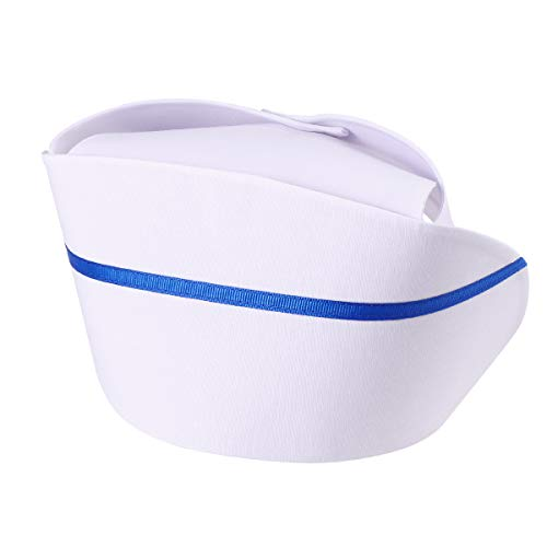 Tinksky Nurse Hat Cap Cosplay Hat Nurse Costume Accessories Gift for Women (White)]()