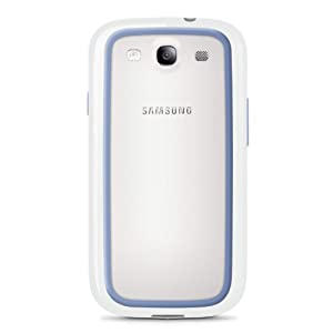 Belkin Surround Case / Cover for Samsung Galaxy S4 / S IV(White / Blue) by my good idea