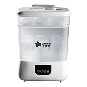 Tommee Tippee Steri-Dry Advanced Electric Sterilizer & Dryer, White 9