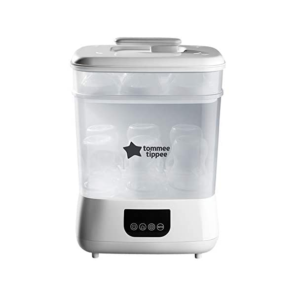 New Tommee Tippee Steri-Steam Electric Steam Sterilizer, White 1