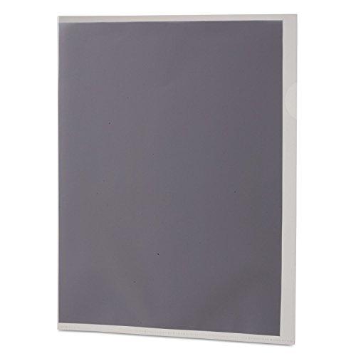 Pendaflex 61504 Poly Color Transparent File Jackets, Letter, Poly, Clear, 50/Box