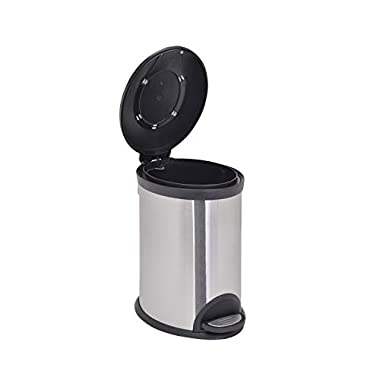 Bathla Contempo Stainless Steel Pedal Step Dustbin - Small (5 L) 11