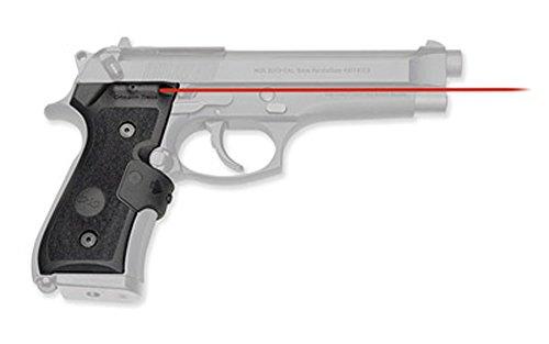 Crimson Trace LaserGrip LG-402M Beretta 92/96/M9, Red by Crimson Trace