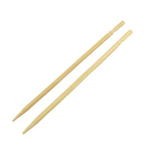 R SODIAL Bamboo Toothpicks Catering Cocktail Fruit Picks 6.4cm Long 600 Pcs