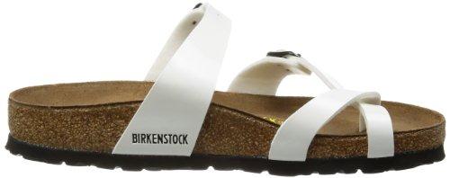 Birkenstock mayari - Chanclas de material sintético para mujer Blanco