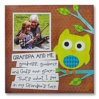 Abbey Press Grandpa and Me Frame Retired - Inspiration Faith Blessing Spirit 54624-ABBEY by Abbey Press