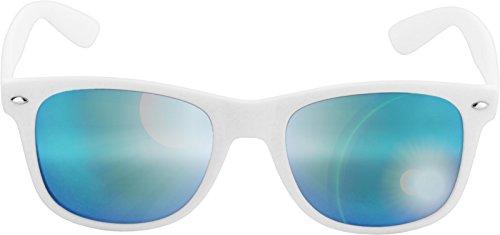 Mixte Likoma Blue Mirror MSTRDS de Soleil Weiß Lunettes White 4444 Blanc PX4nwqxOT