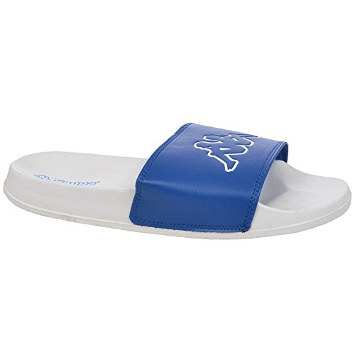 Blue Gigi Mens White Kappa Slides BqwXIff