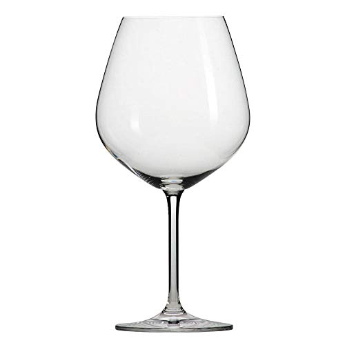 Schott Zwiesel Tritan Crystal Glass Forte Stemware Collection Claret Burgundy Red Wine Glass, 25-Ounce, Set of 6 (Best Red Wine Glass Reviews)