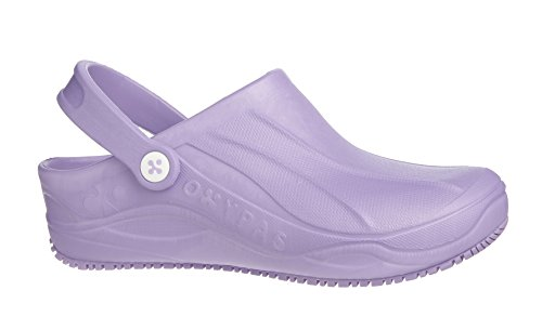 Antistatic Healthcare Personnel Sole Smooth And Slip Oxypas Lilac Operating Caregivers Anit Suitable For Nurses Professionals Room Hospital Clog WqwwYXcyzO