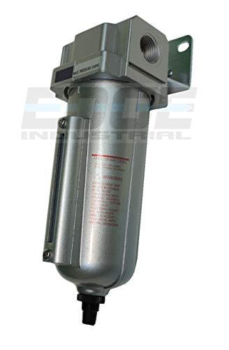1/2 Heavy Duty Particulate Filter Moisture trap water seperator w/ Auto Automatic Drain