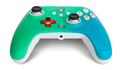 PowerA Enhanced Wired Controller for Xbox – Seafoam Fade, Gamepad, Wired Video Game Controller, Gaming Controller, Xbox Series X|S, Xbox One – Xbox Series X (Only at Amazon) 31KLynTF87L