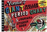 Price comparison product image Vinnie's Giant Roller Coaster Period Chart and Journal Sticker Book