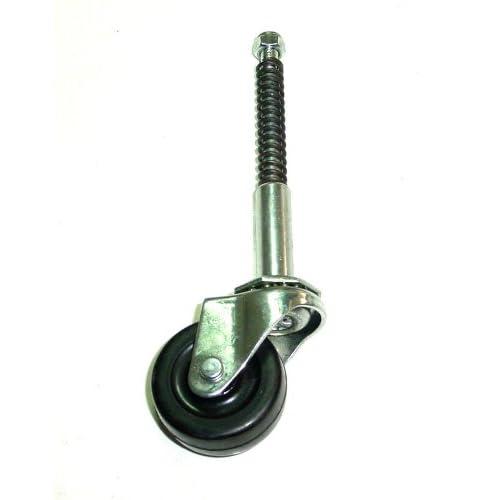 """(One) Shepherd Light Duty Swivel Stem Caster 2"""" x 15/16"""" Hard Wheel (5/16"""" Threaded x 5-3/4"""" Tall) Ladder Caster"""