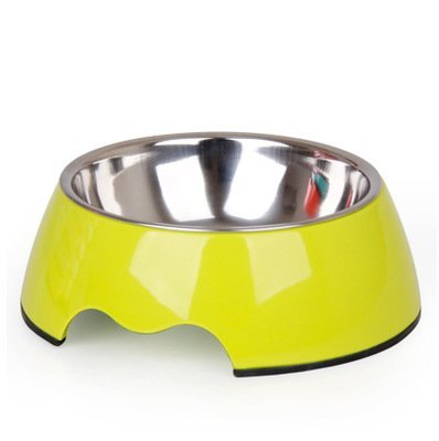 3 L 3 L KTYX Pet Bowl Dog Bowl Cat Bowl Non-Slip Dual-Purpose Stainless Steel Single Bowl Food Bowl Pet Supplies Pet Bowl (color   3, Size   L)