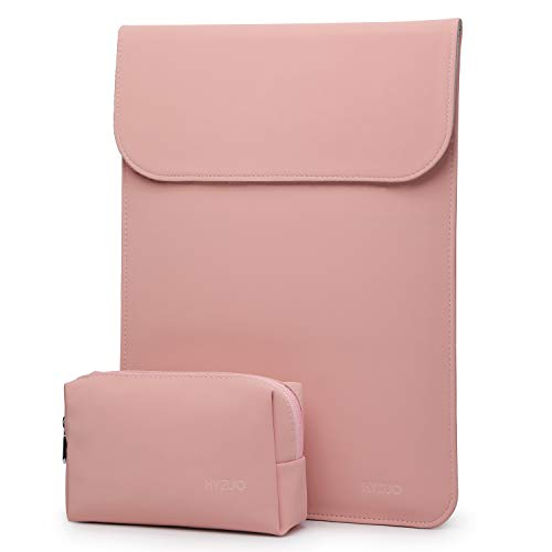 estuche + bolso para notebook 13 pulgadas rosa HYZUO