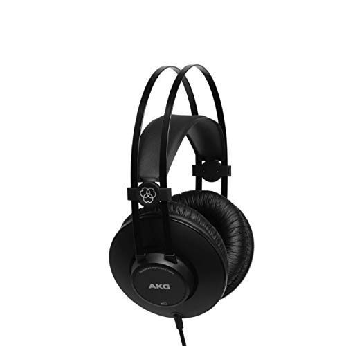 AKG K52 Closed-Back Headphone (Black)