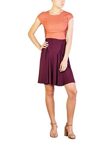 Prada Women's Acetate Viscose Blend Pleaded Dress Two - Prada Dress Red