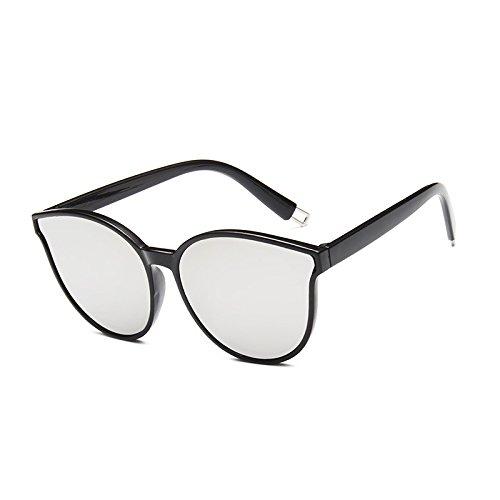 Color Azul Sol Sol de Sol Gafas Gafas Coreana Water Silver Sunglasses Tendencia Gafas de de Moda Hombres Femeninas de wWZaAHqE