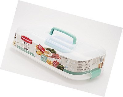 Serving Tray Kit (Rubbermaid Ultimate Party Serving Kit)
