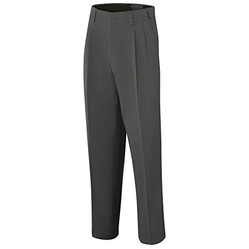 Adams USA ADMBB375-36-CG Umpire Combo Pleated Expandable Waist Uniform Pants, Charcoal Grey, Size 36