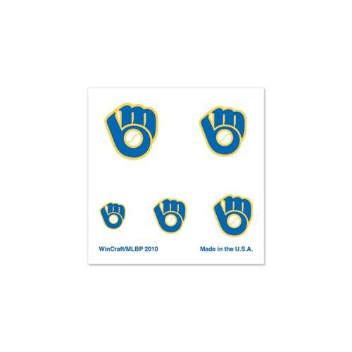 MLB Milwaukee Brewers 81076010 Fingernail