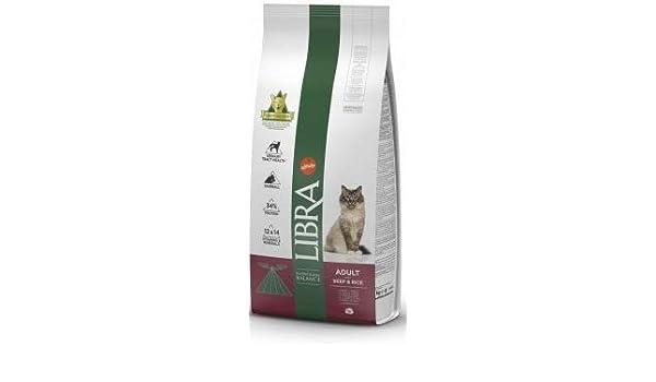 LIBRA Gato Beef 15 kg: Amazon.es: Productos para mascotas